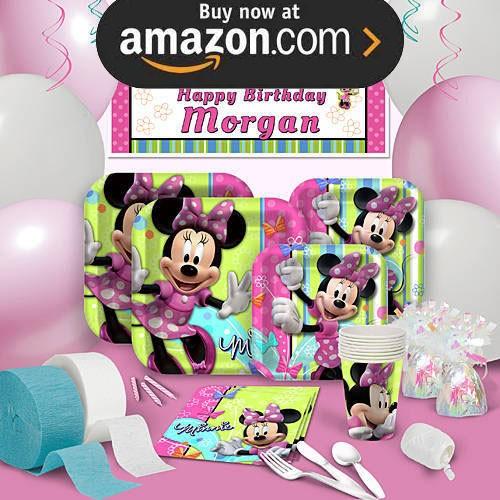 Minnie Bows Party Supplies