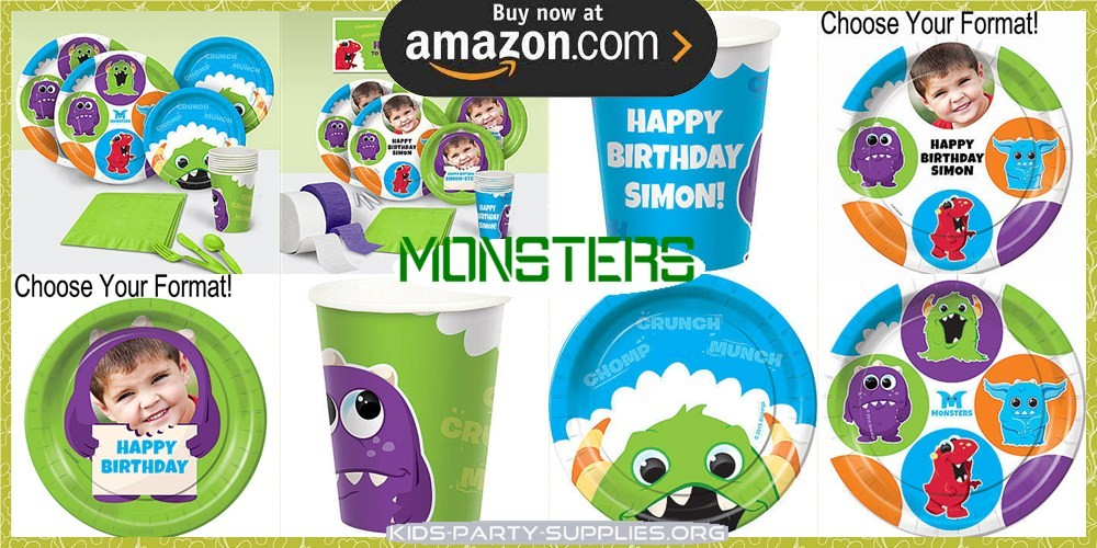 Monsters Party Supplies