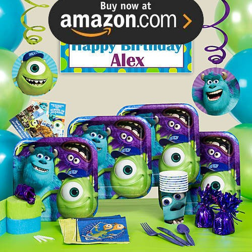 Monsters University Party Supplies