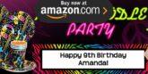 Neon Doodle Party Supplies
