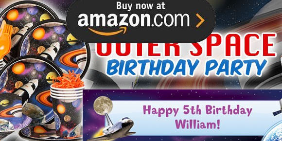 Outer Space Party Supplies