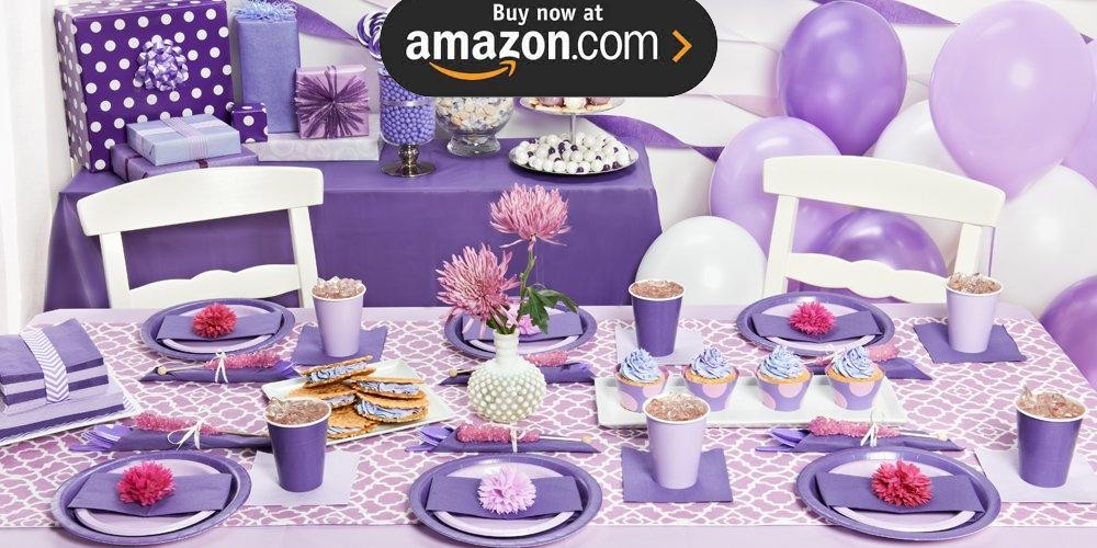 Perfect Purple Party Supplies
