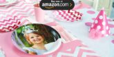 Pink and White Chevron Design Your Own Party Supplies