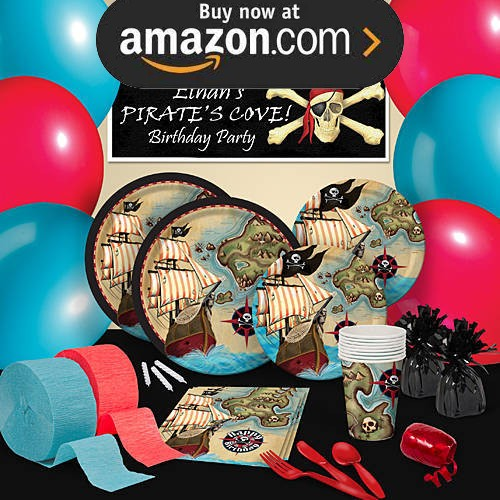 Pirates Map Party Supplies