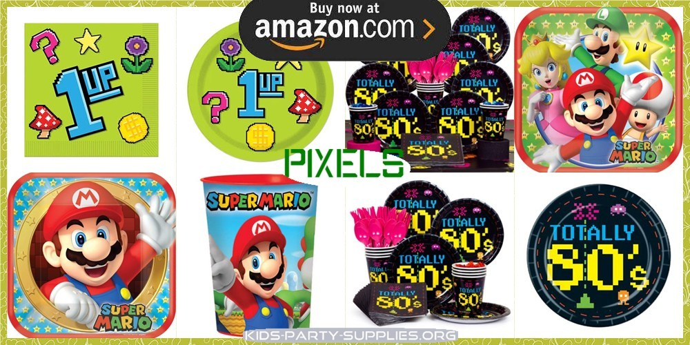 Pixels Party Supplies