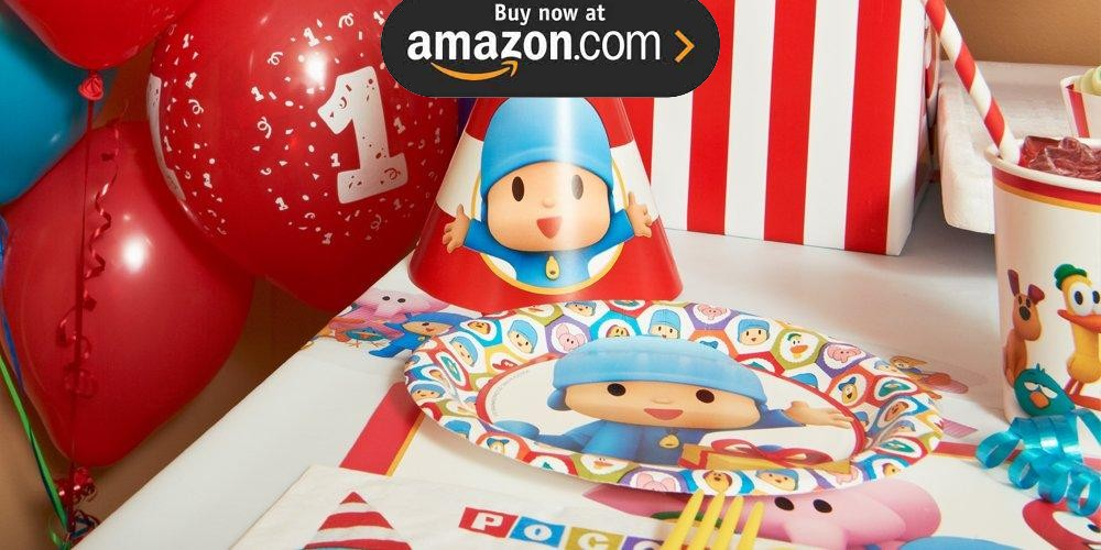 Pocoyo 1st Birthday Party Supplies