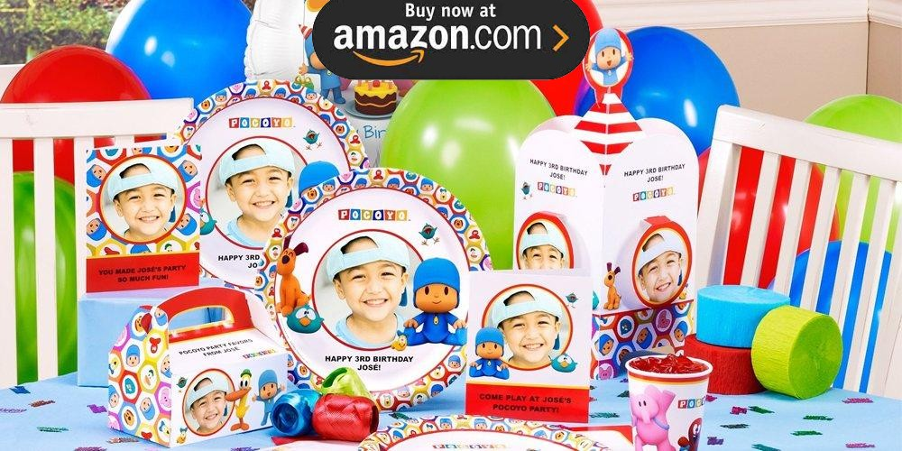 Pocoyo Personalized Party Supplies
