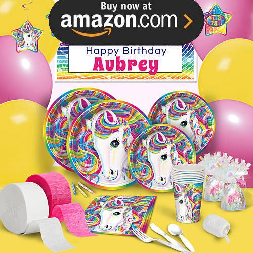 Rainbow Majesty Party Supplies