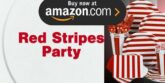 Red Stripes Party Supplies
