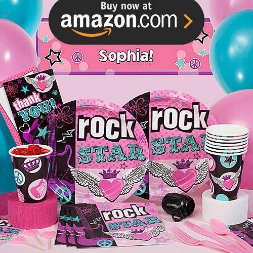 Rocker Girl Party Supplies