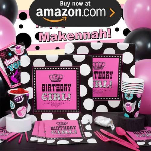 Rocker Princess Party Supplies