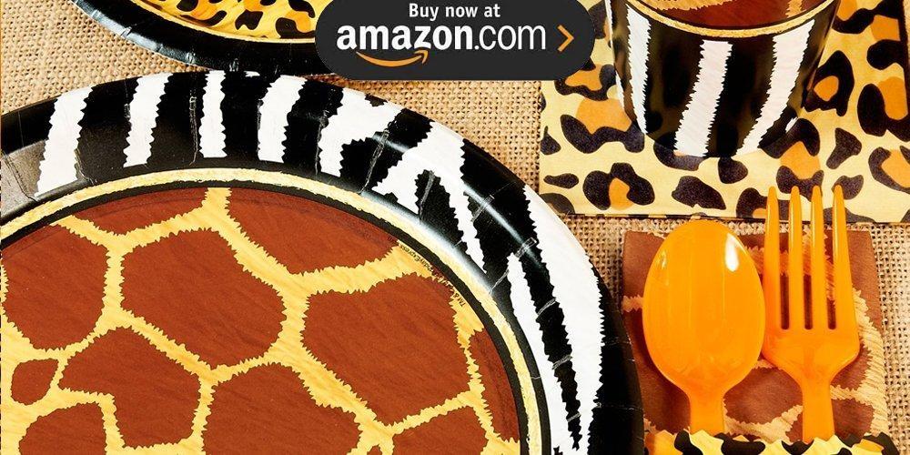 Safari Adventure Party Supplies
