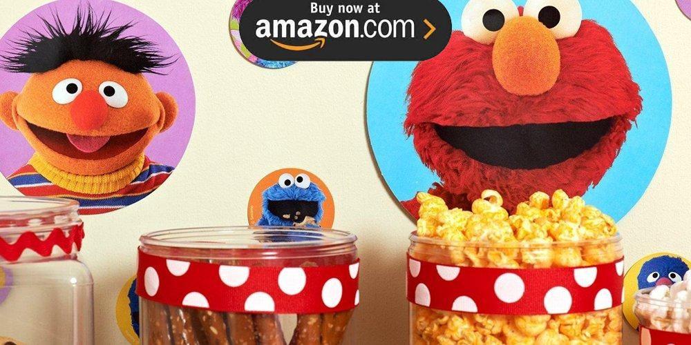 Sesame Street Elmo Party Supplies