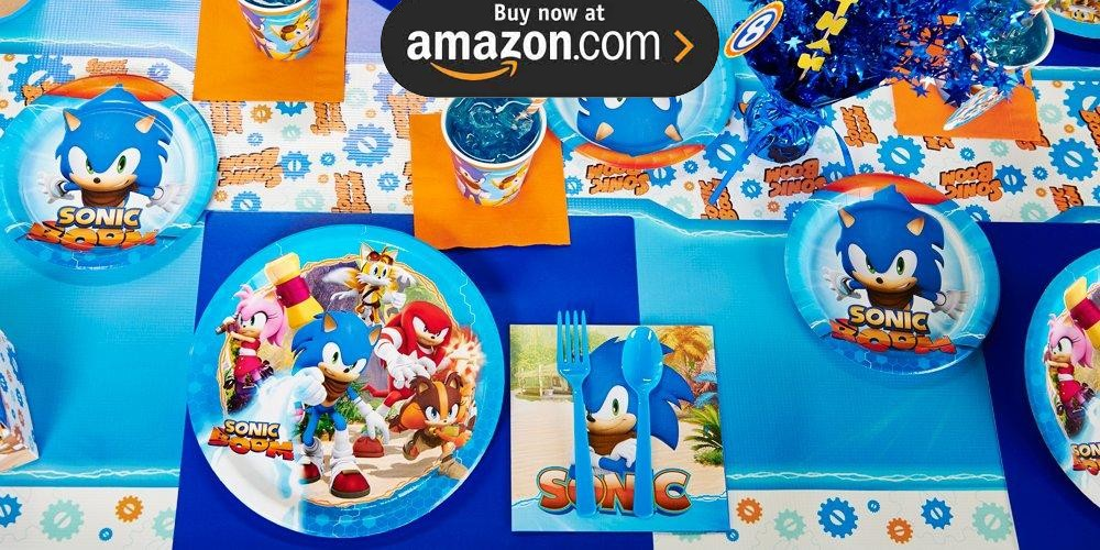 Sonic Boom Party Supplies
