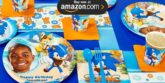 Sonic Boom Personalized Party Supplies
