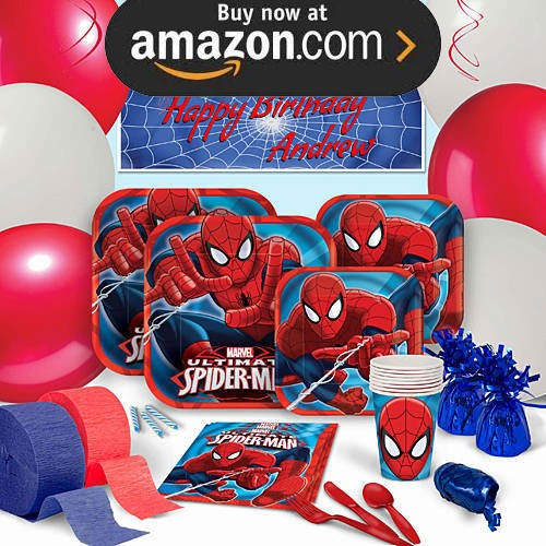 Spider-Man Party Supplies