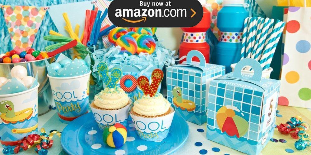 Splashin Pool Party Supplies