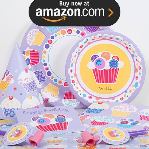 Sweet Cupcakes Party Supplies
