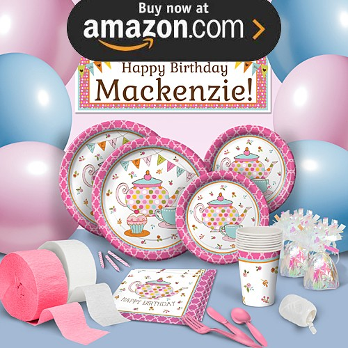 Tea Time Party Supplies