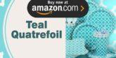 Teal Quatrefoil Party Supplies