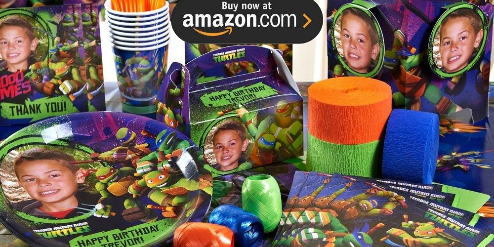 Teenage Mutant Ninja Turtles Personalized Party Supplies
