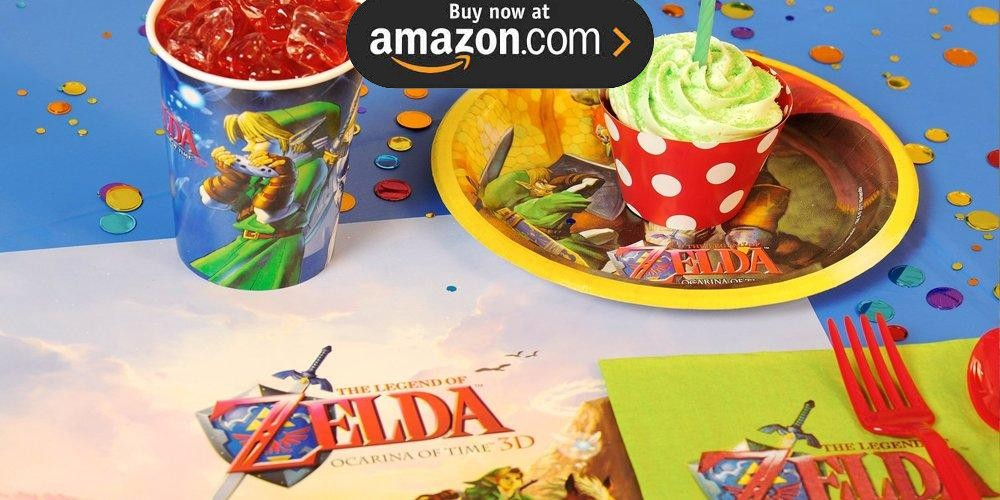 The Legend of Zelda Party Supplies