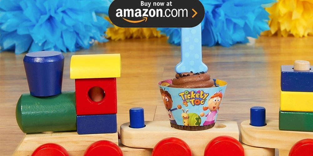 Tickety Toc 1st Birthday Party Supplies