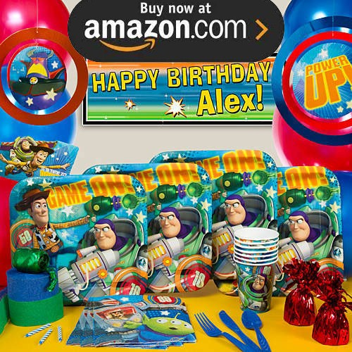 Toy Story Game Time Party Supplies