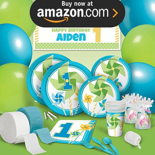 Turning One Boy Party Supplies