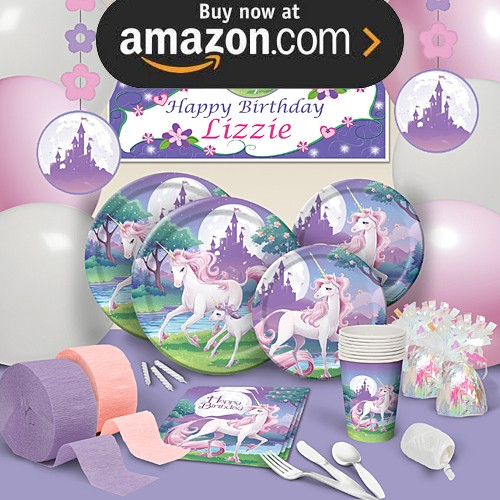 Unicorn Fantasy Party Supplies