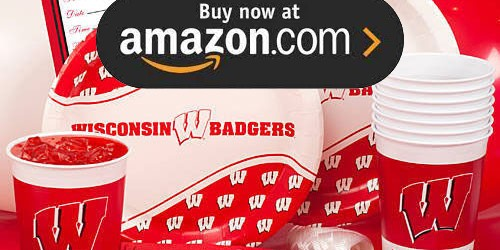 University of Wisconsin Party Supplies
