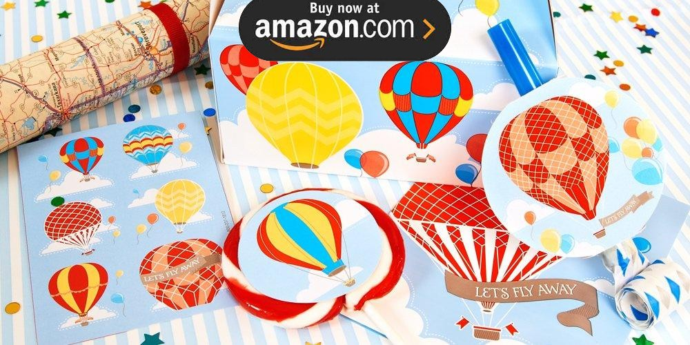 Up Up and Away Party Supplies