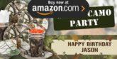 White Camo Party Supplies