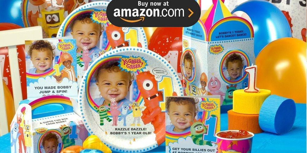 Yo Gabba Gabba 1st Personalized Party Supplies